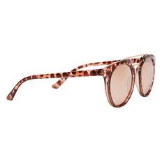 Jo Round Metal Trim Sunglasses