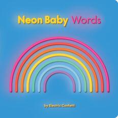 Neon Baby Words Book