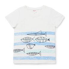 Fish Wave Tee