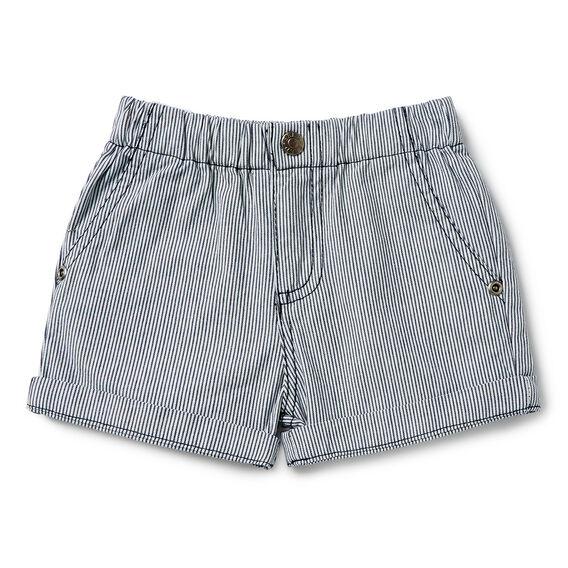 Woven Stripe Short