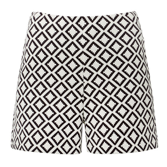 Stretch High Waisted Short