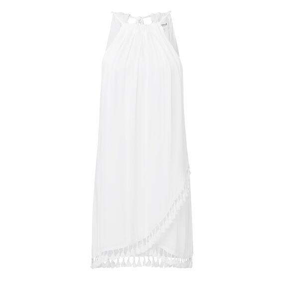 Layered Tassel Dress