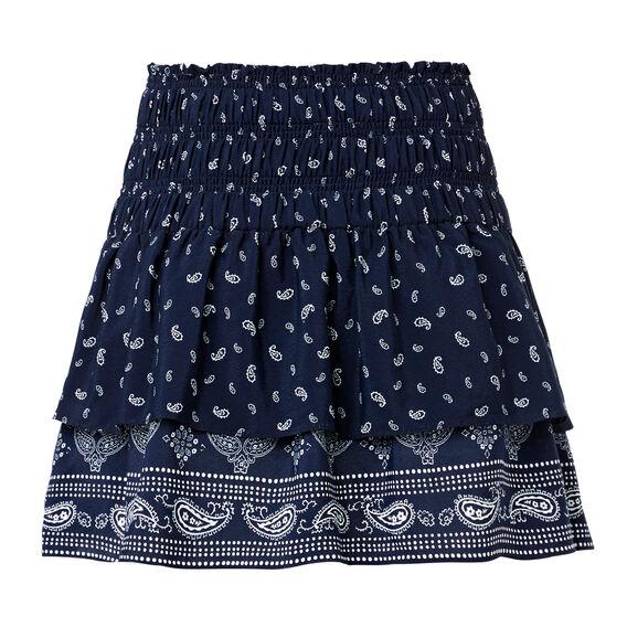 Patchwork Rah Rah Skirt