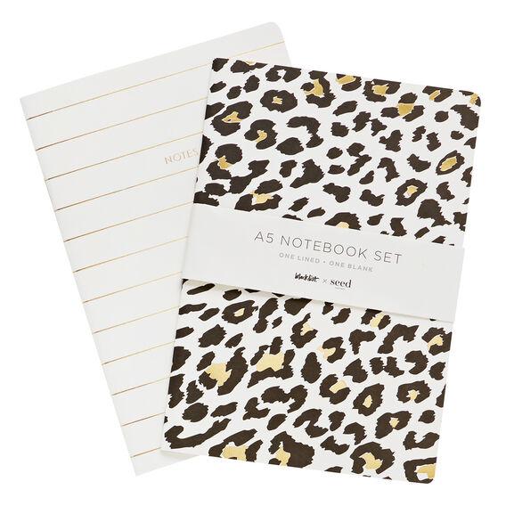 A5 Notebook 2 Pack