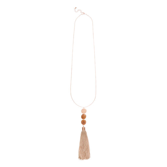 Chunky Tassel Necklace