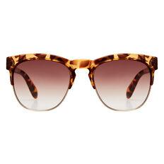 Iris Half Rim Sunglasses