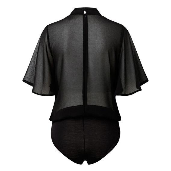 Sheer Flutter Bodysuit