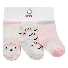 Hedgehog 3 Pack Socks