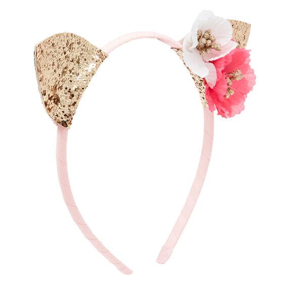 Flower Cat Ears Headband