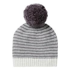 Stripe Knit Beanie