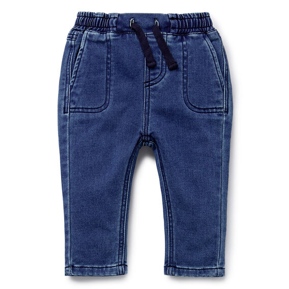 Denim Terry Jean