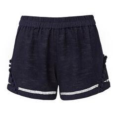 Textured Pom Pom Short