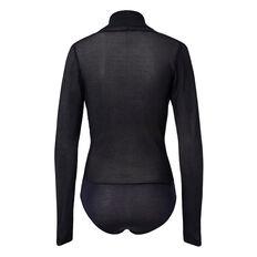 Knitted Wrap Bodysuit