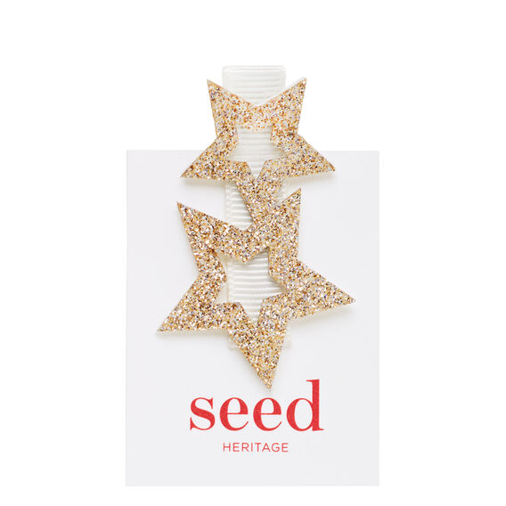 Cut Out Star Clip