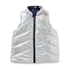 Iridescent Reversible Vest