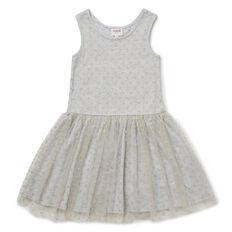 Glitter Spot Tulle Dress