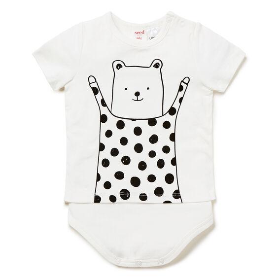 Spot Bear Bodysuit