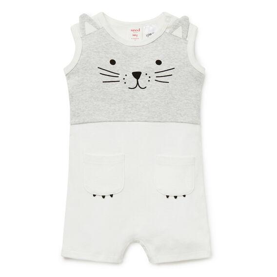 Novelty Cat Jumpsuit