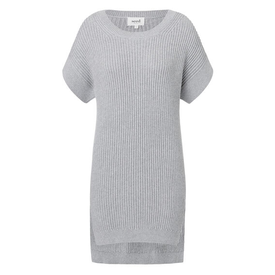 Longline Split Sweater