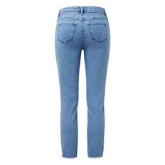 Frayed Denim Jean