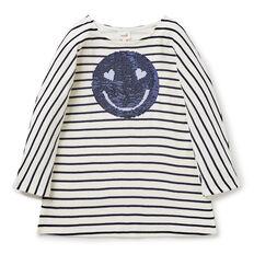 Flip Sequin Stripe Dress