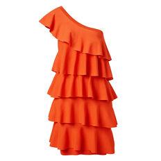 Frill Crepe Dress