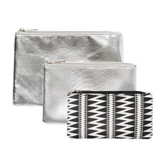 3 Pack Cosmetic Case