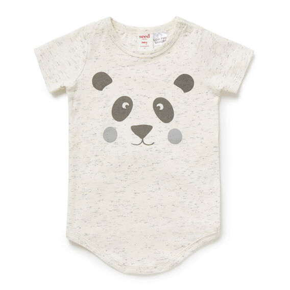 Panda Face Bodysuit