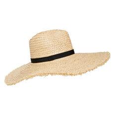 Frayed Wide Brim Hat