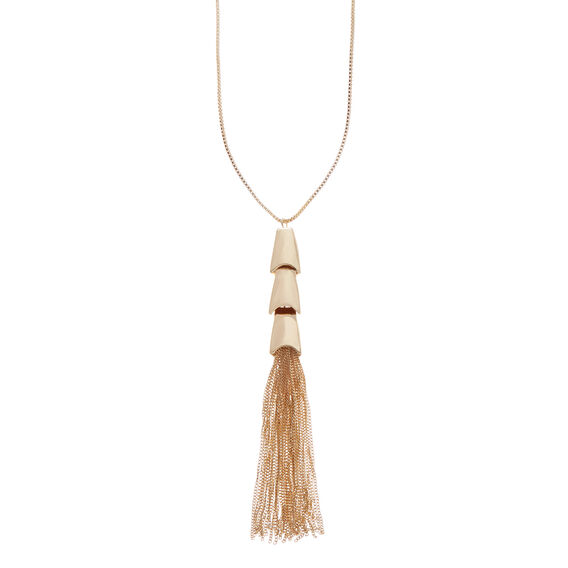 Tiered Tassel Necklace