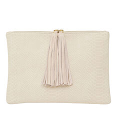 Aries Tassel Clutch