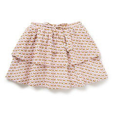 Ditsy Tiered Skirt