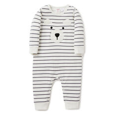 Fuzzy Bear Jumpsuit