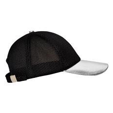 Silver Trim Mesh Cap