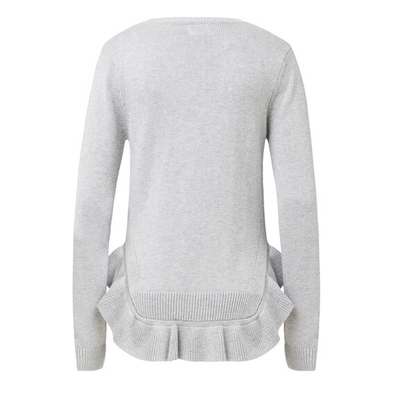 Frilly Rib Sweater