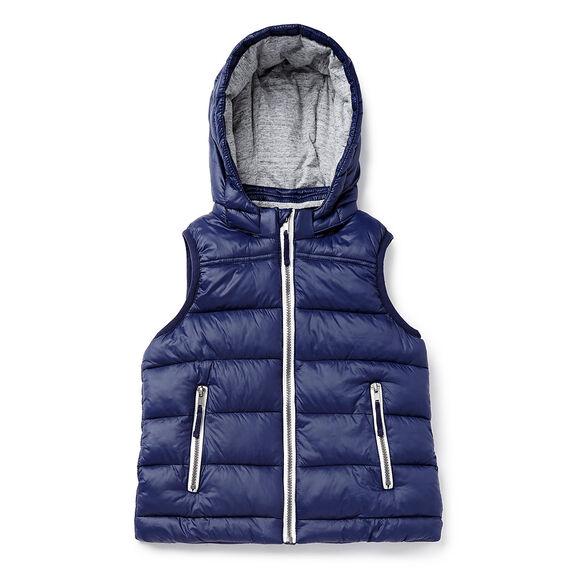 Hooded Puffa Vest