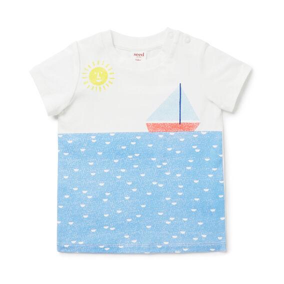 Boat Print Tee