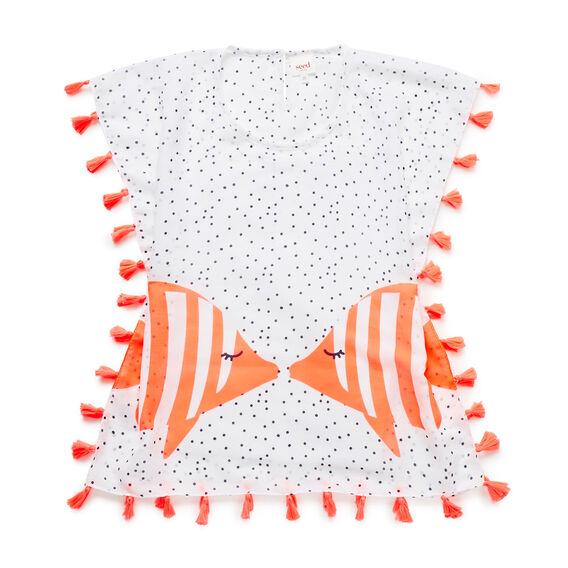 Bubble Fish Poncho