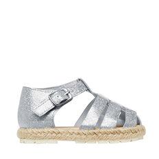 Glitter Caged Sandal