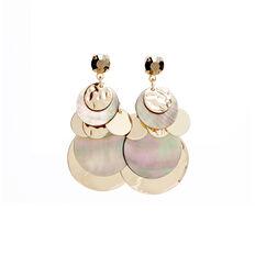 Layered Shell Earrings