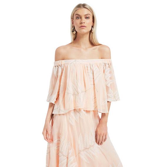 Palm Midi Skirt