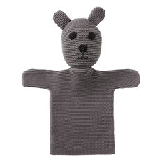 Knitted Bear Puppet