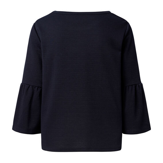 Frill Sleeve Sweater