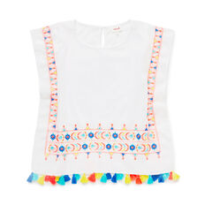 Folk Embroidery Poncho