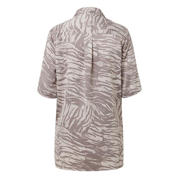 Printed Wrap Shirt