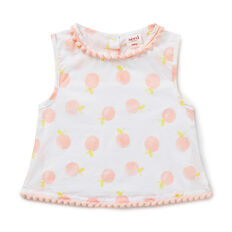 Fruity Pom Pom Top