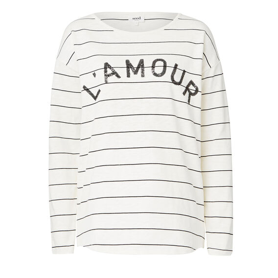 L' Amour Stripe Sweater