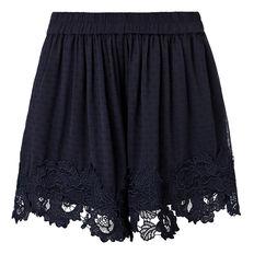 Dobby Lace Short