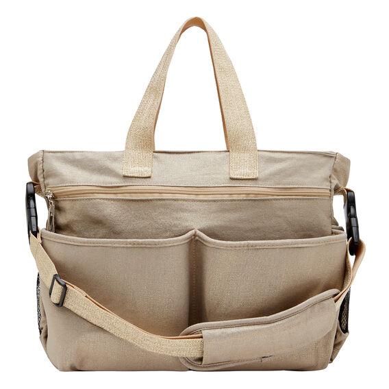 Metallic Nappy Bag