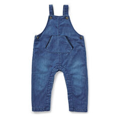 Rigid Denim Overalls